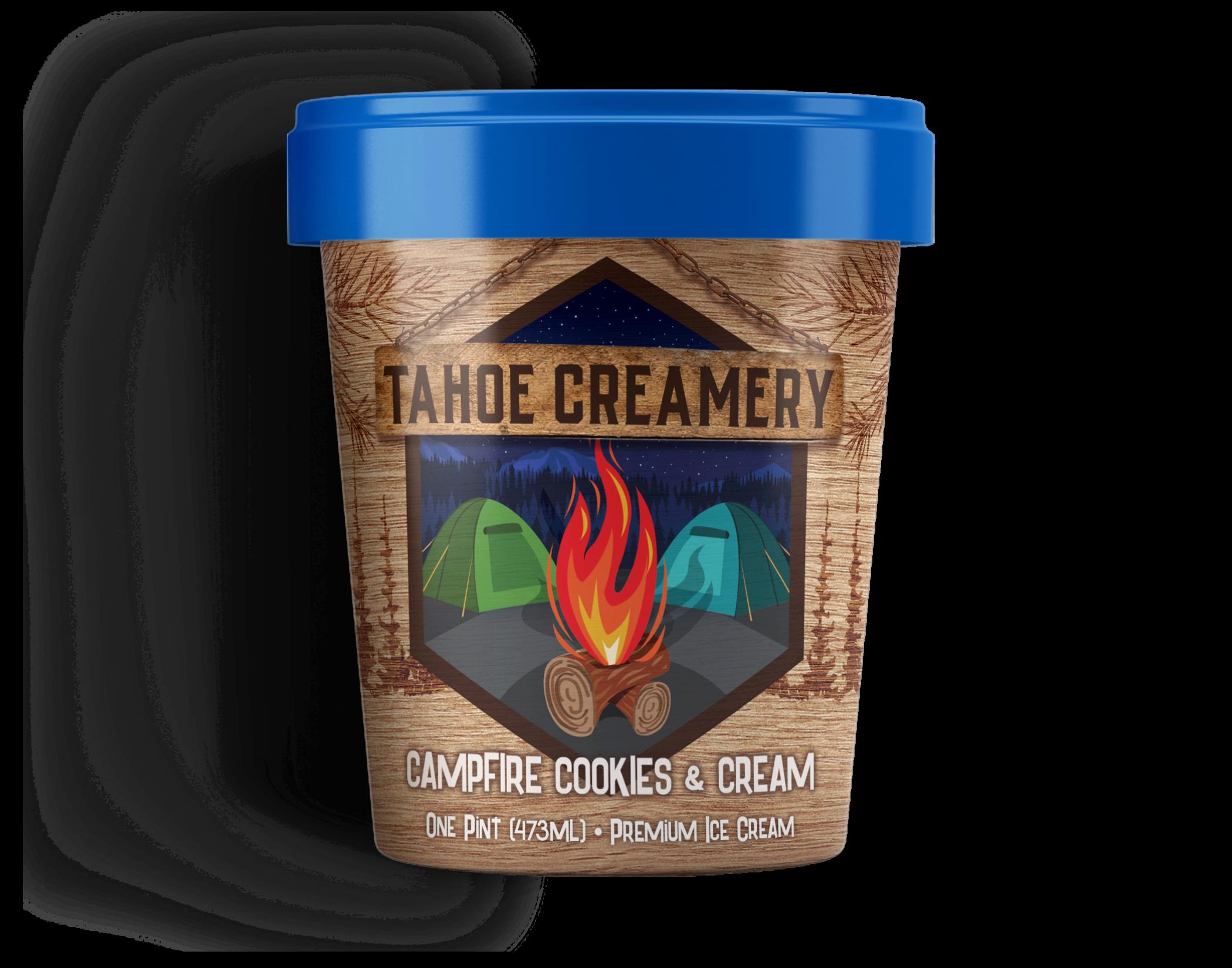 Campfire Cookies & Cream